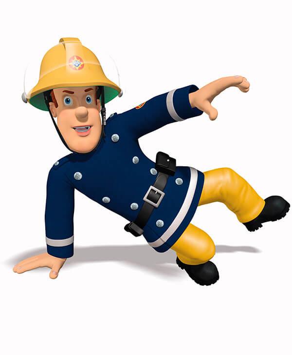 Feuerwehrmann sam eventservice - Feuerwehrmann sam wandbild ...