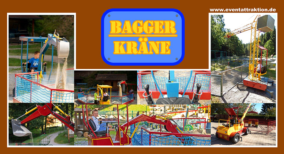 Flyer-Bagger-Kräne-back